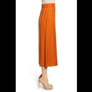 Leith • Rust Color Wide Leg Pants